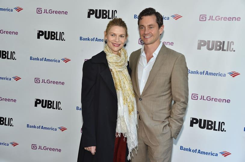 Claire Danes e il marito Hugh Dancy