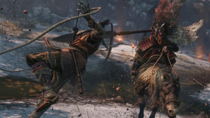 Sekiro Cavaliere armato di lancia