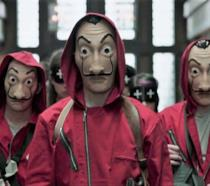 I rapinatori con l'iconica maschera