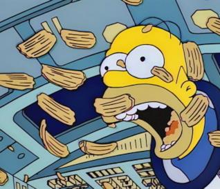 Homer Simpson nello spazio