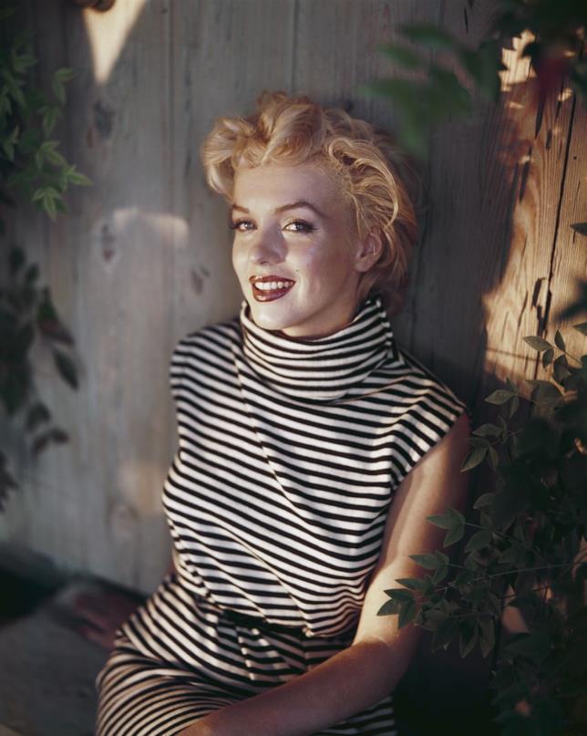 Marilyn Monroe in primo piano