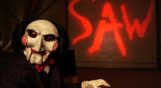 locandina del film Saw