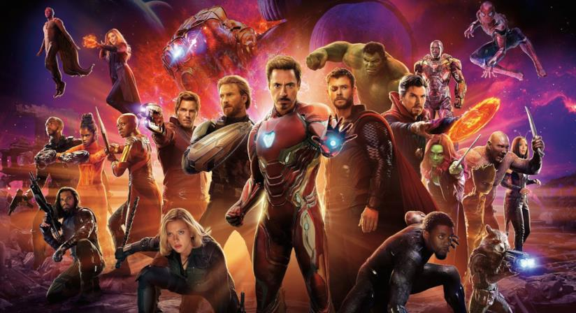 Il poster corale di Avengers: Infinity War