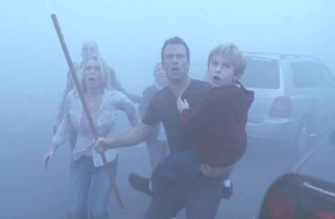 Un'immagine del film The Mist