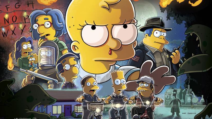 I Simpson: il banner dell'ultimo La Paura fa Novanta