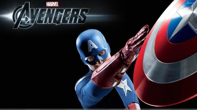 Chris Evans come Captain America
