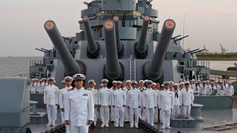 L'incrociatore pesante USS Indianapolis e il suo equipaggio
