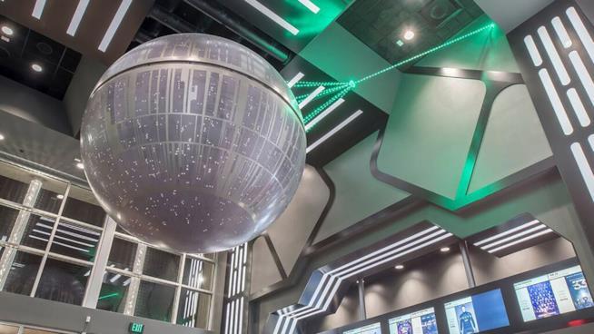Ingresso del cinema a tema Star Wars