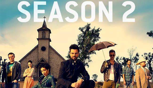 Immagine del cast della serie Preacher