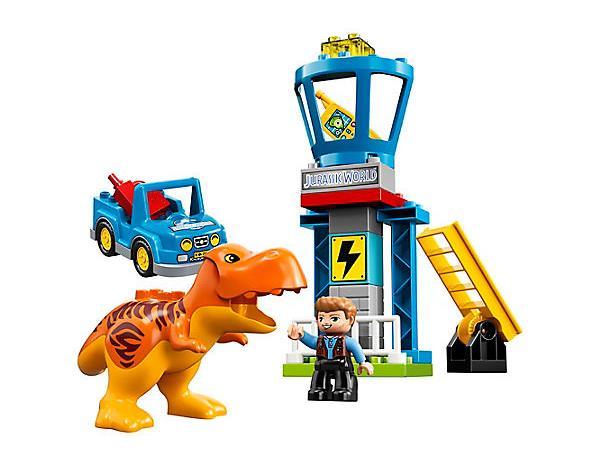 Dettagli del set LEGO DUPLO La torre del T. rex