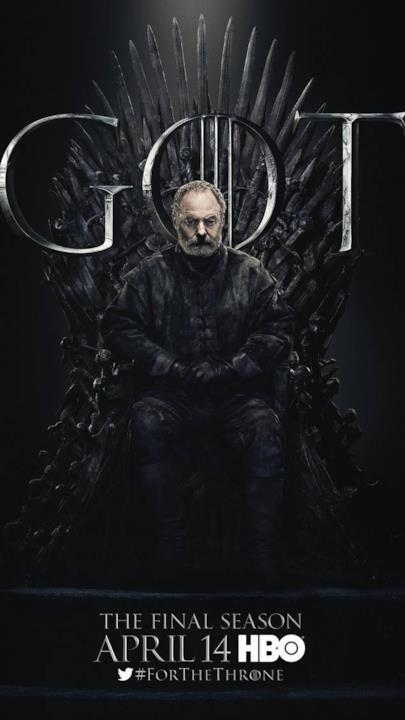 Game of Thrones 8: il poster di Ser Davos Seaworth