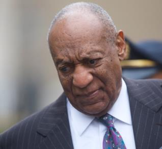 Bill Cosby durante il processo