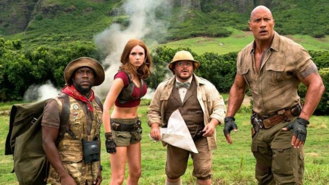 I protagonisti di Jumanji- Benvenuti nella giungla