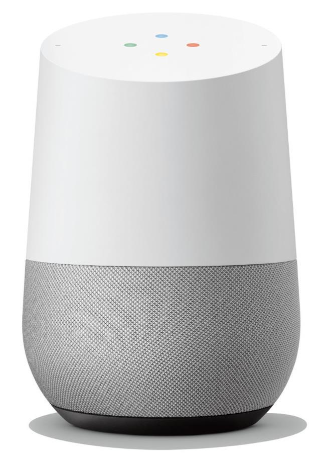 Immagine stampa di Google Home