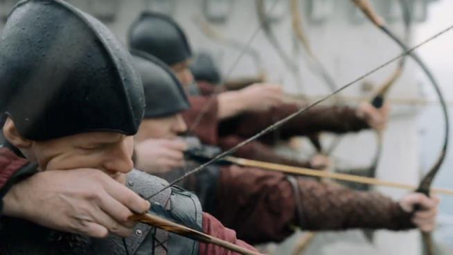 gli arceri Lannister nel trailer di Game of Thrones 7x03