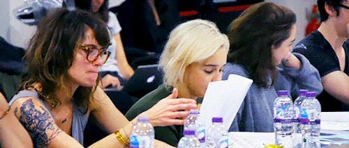 La reazione di Emilia Clarke alla morte di Jorah