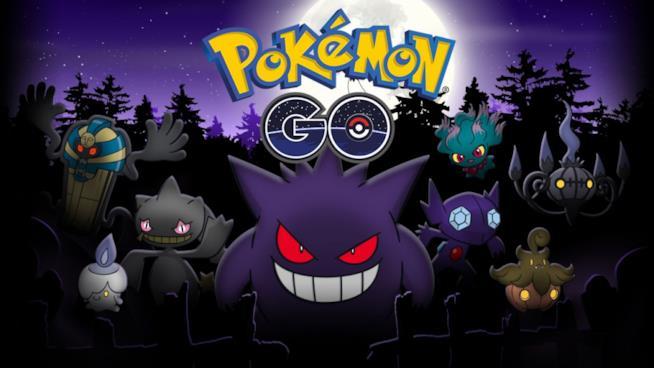 Pokémon spettro e psycho festeggiano Halloween in Pokémon GO