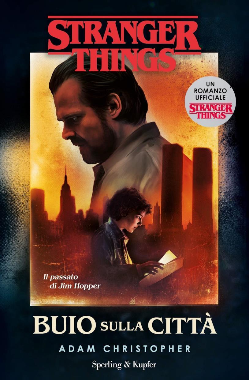 La copertina con Hopper e Undici che legge