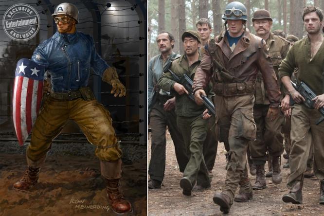 Capitan America: concept art di Ryan Meinerding