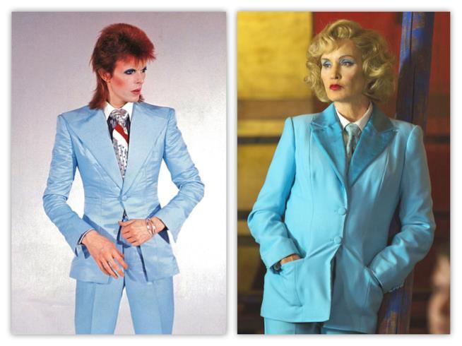 David Bowie e Jessica Lange