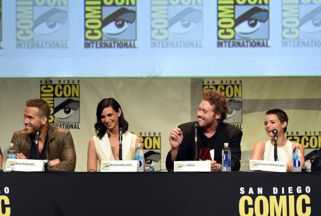 Ryan Reynolds e il cast di Deadpool al Comic-Con di San Diego