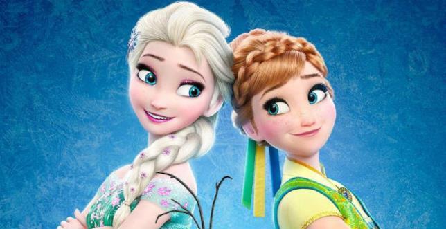 La Regina Elsa e la Principessa Anna
