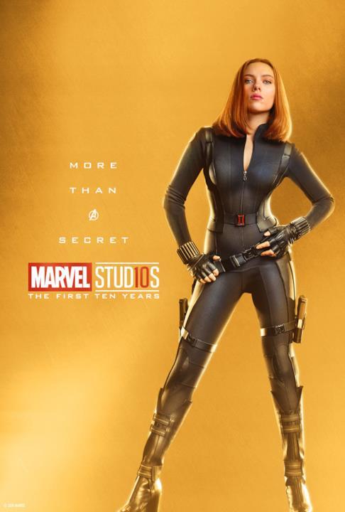 10 anni di Studi Marvel: il character poster di Vedova Nera