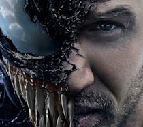 Un dettaglio del poster di Venom