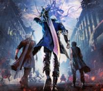 I tre protagonisti di Devil May Cry 5