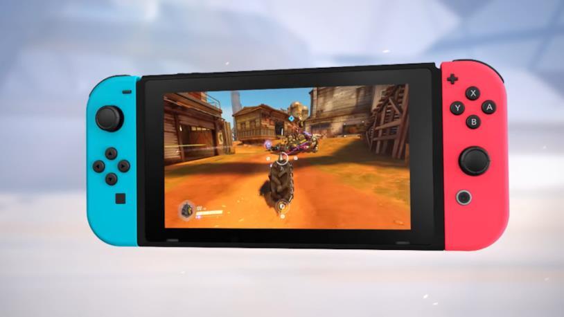 Overwatch su Nintendo Switch in un'immagine promozionale