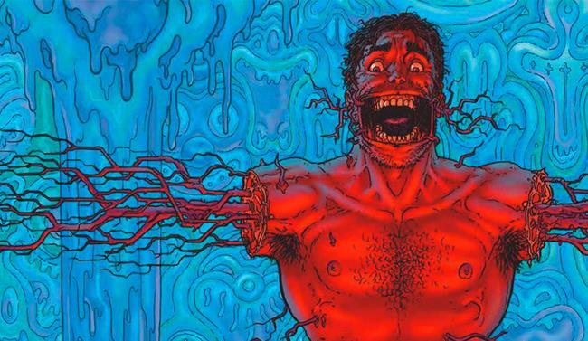 Tavola del fumetto Nemeless, in recensione
