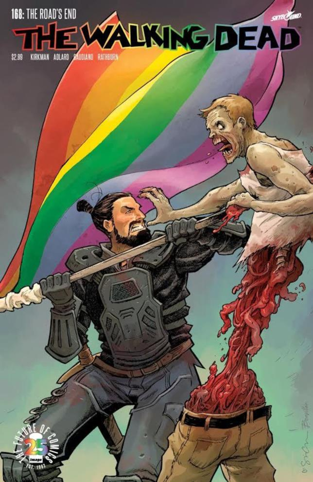 The Walking Dead e Image Comics celebrano il Pride