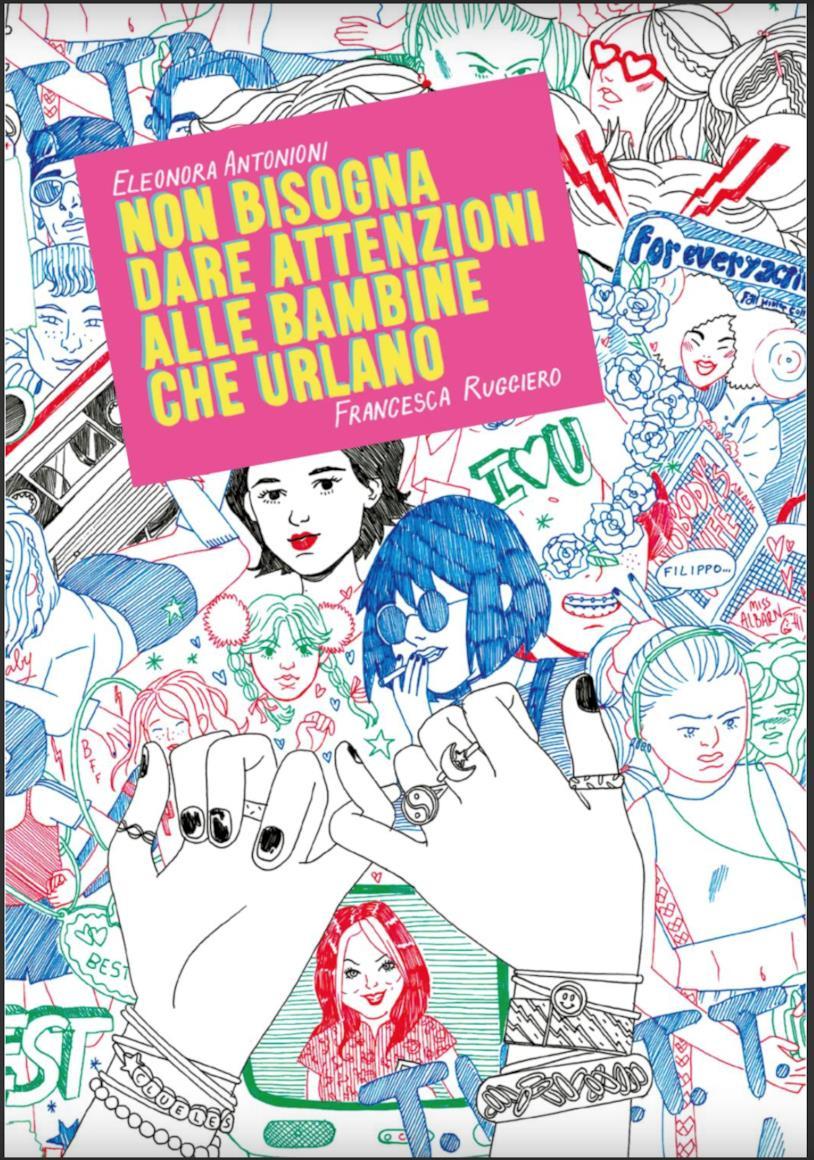 La copertina del fumetto-diario