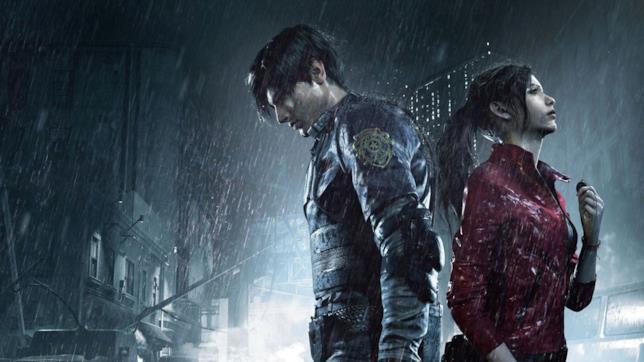 Una key art mostra i protagonisti di Resident Evil 2