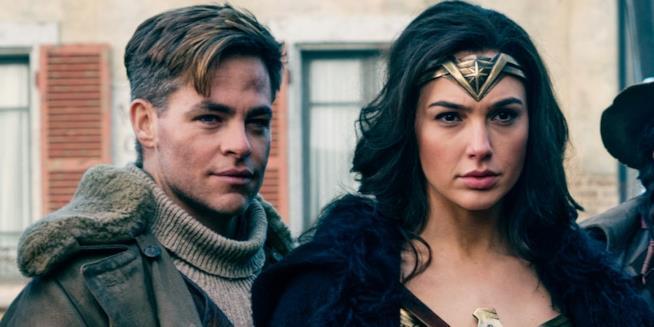 Diana e Steve in Wonder Woman