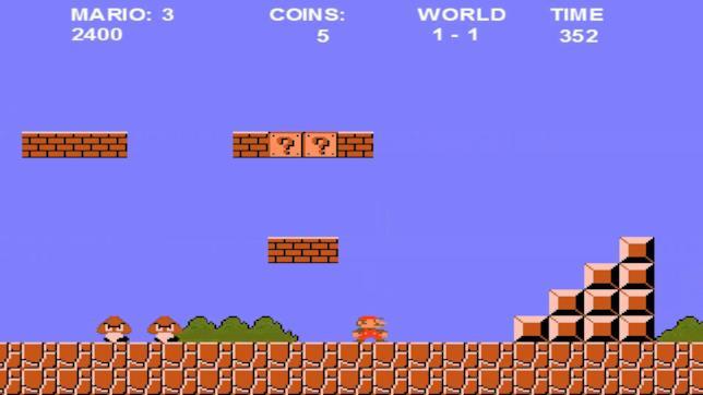 Il videogioco Super Mario Bros