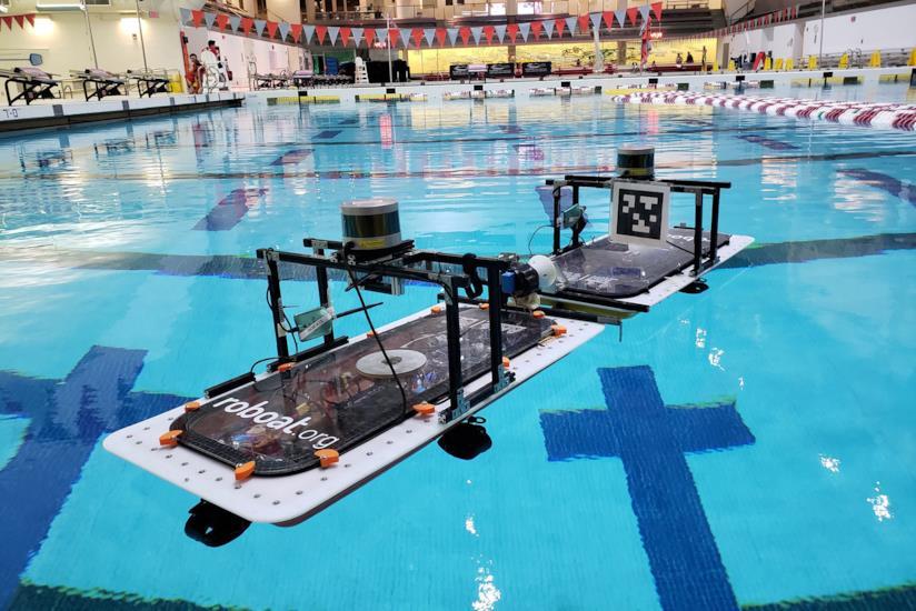 Due prototipi di Roboat