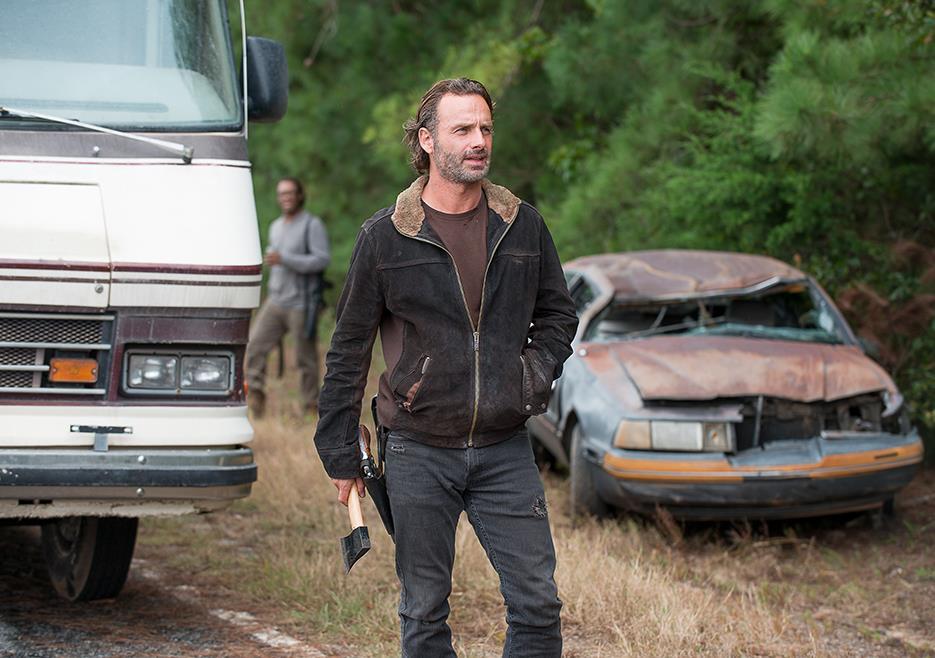 Rick nell'episodio 6x12 di TWD