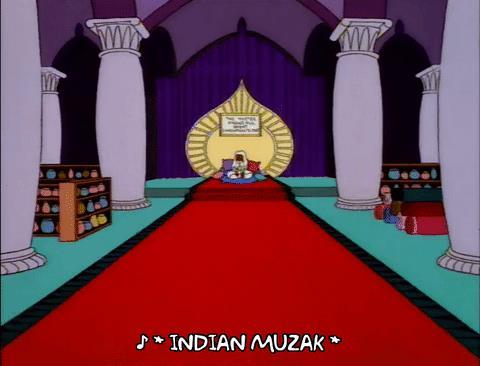 Apu e Homer in viaggio