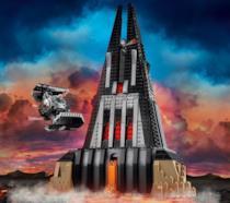 Il castello di Darth Vader di Star Wars in chiave LEGO