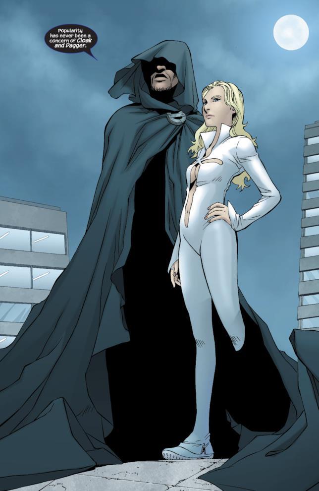 La versione a fumetti di Cloak e Dagger