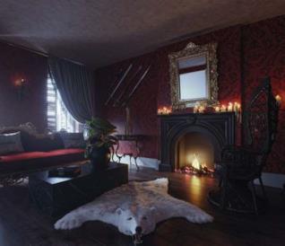 La casa-replica della famiglia Addams apre le porte per Halloween