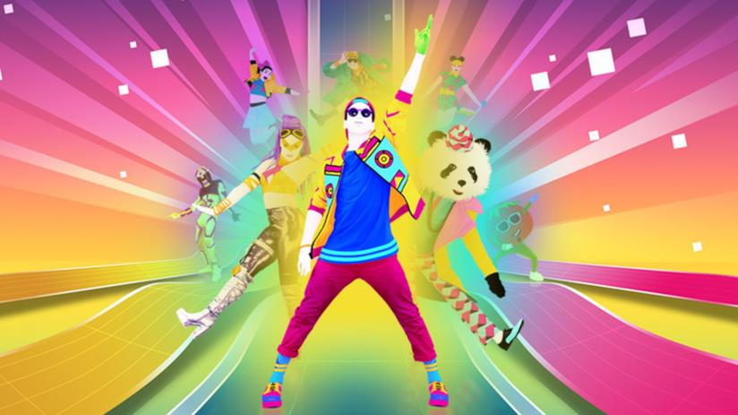 Un'immagine promozionale di Just Dance 2018