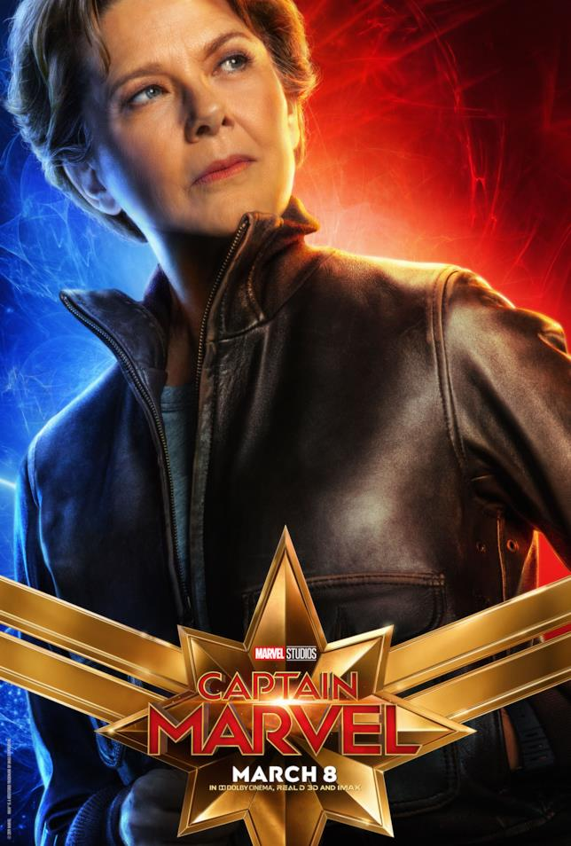Wendy Lawson nel character poster di Captain Marvel
