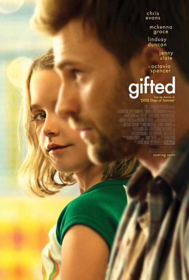 Chris Evans vestirà le vesti del papà in Gifted