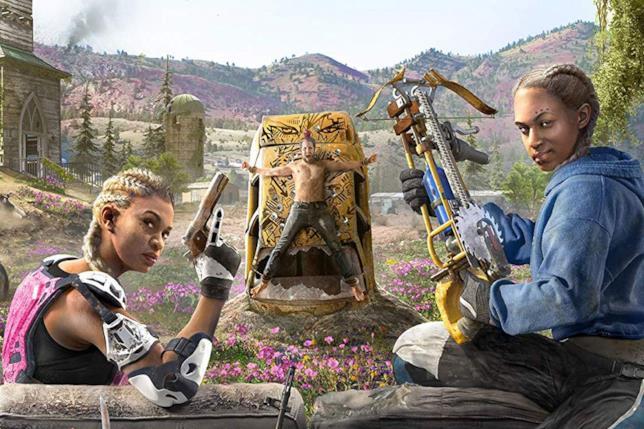 Far Cry New Dawn, disegno promozionale dedicato alla gemelle