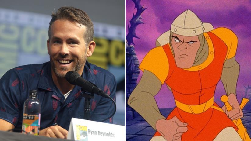 Ryan Reynolds reciterà nell'adattamento Netflix di Dragon's Lair