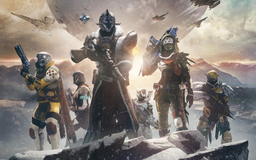 Un gruppo di Guardiani da Destiny 2