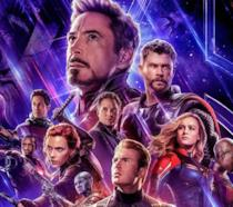 Poster ufficiale di Avengers: Endgame