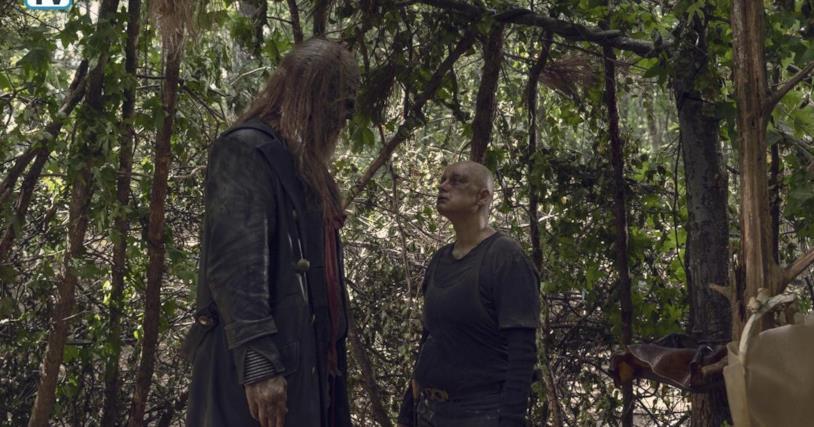 The Walking Dead: Beta e Alpha nell'episodio 9x12